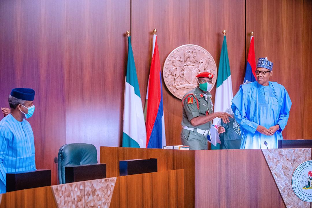 President Buhari Presides Over The National Security Council Meeting On 14/05/2020