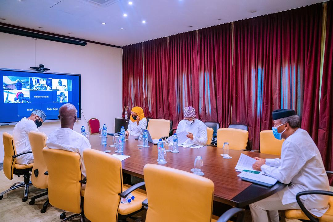 VP Osinbajo Presides Over Virtual Meeting Of The Presidential Power Reform Coordination Working Group On 22/05/2020