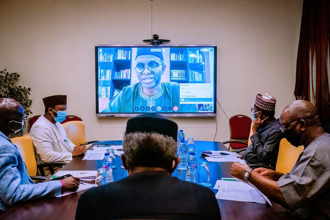 VP Osinbajo Chairs Meeting Of The Presidential Power Sector Reform Working Group On 07/05/2020