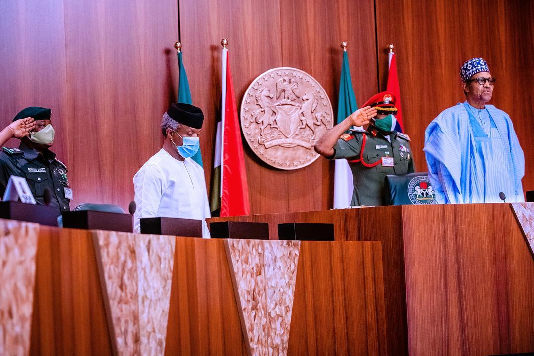 President Buhari Presides Over Virtual Federal Executive Council Meeting On 20/05/2020