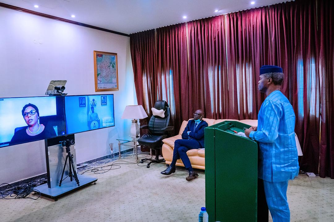 VP Osinbajo Launches The Nigeria Solidarity Support Fund On 14/05/2020