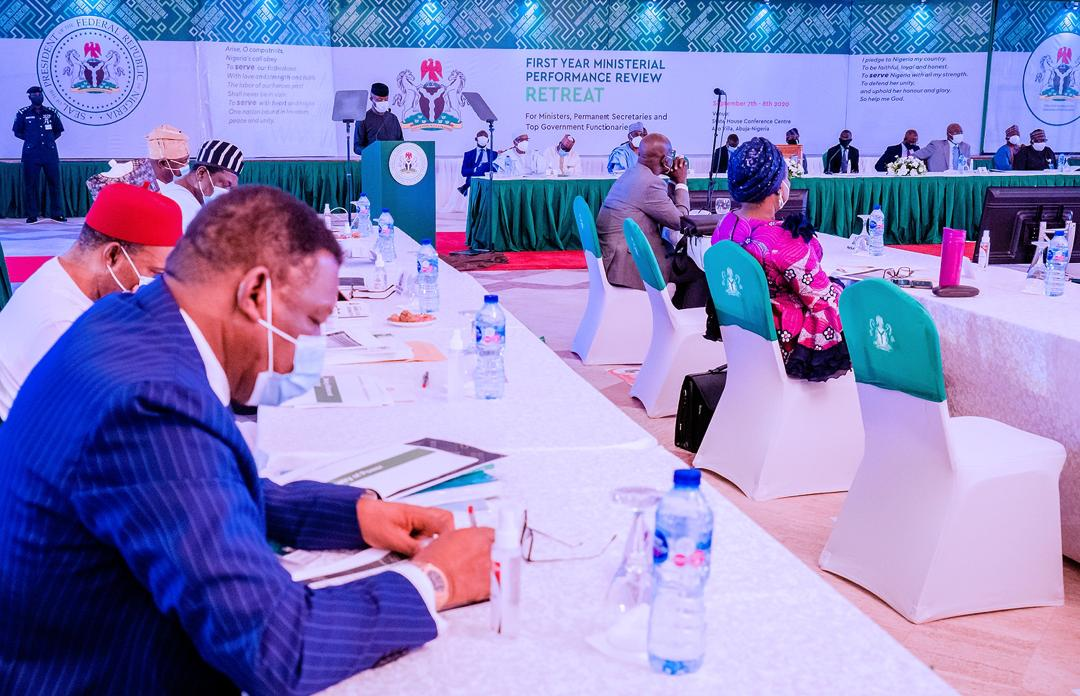President Buhari's Address At First Year Ministerial Performance Review Retreat