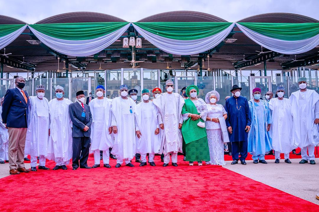 VP Osinbajo Attends The 60th Anniversary Independence Day Celebration & Parade On 01/10/2020