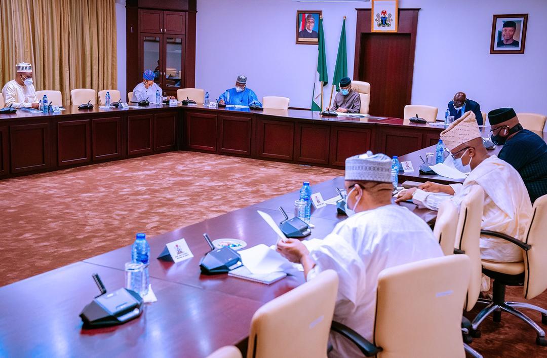 APC Tripartite Consultative Committee Of The Executive, Legislature & Party Leadership On 05/10/2020