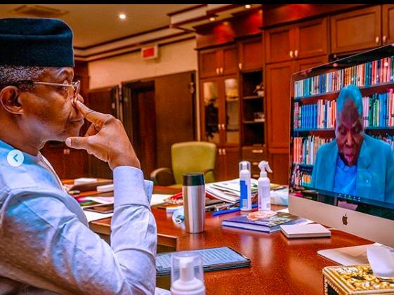VP Osinbajo Attends Nigeria Leadership Initiative Webinar On 03/10/2020