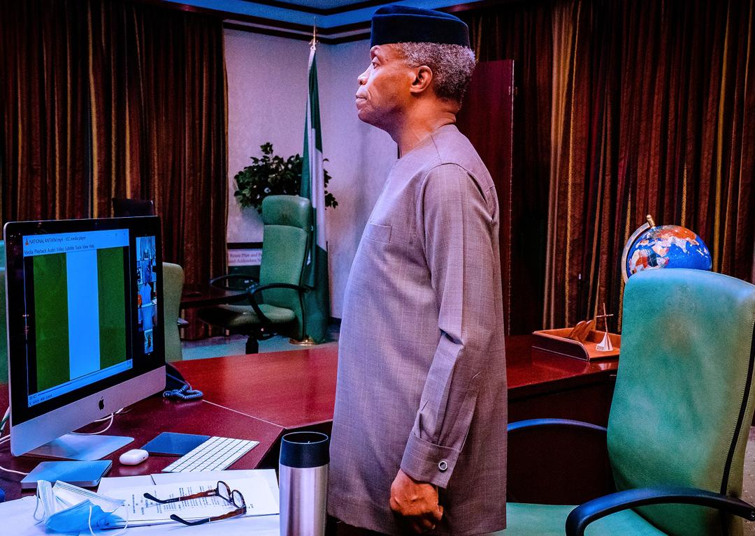 VP Osinbajo Presides Over Virtual Meeting Of The National Economic Council On 15/10/2020