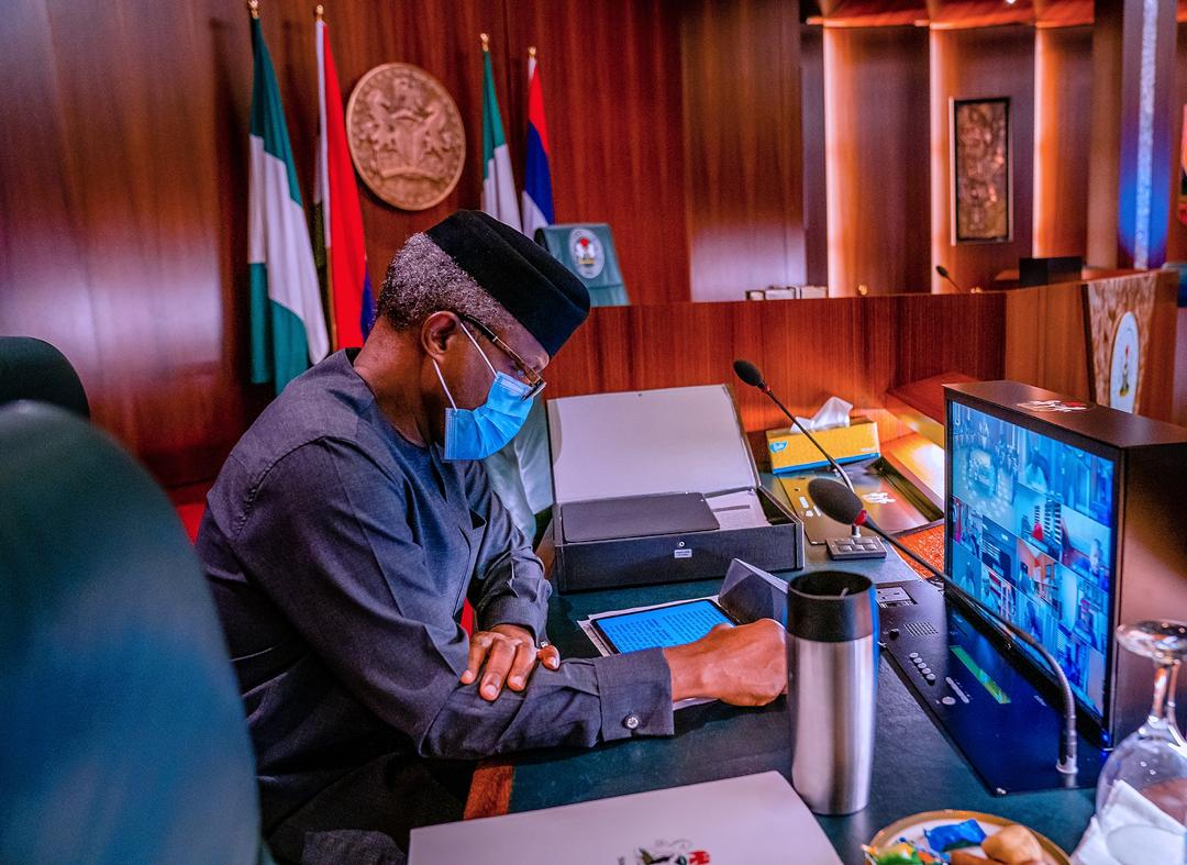 President Buhari Presides Over Federal Executive Council Meeting On 07/10/2020