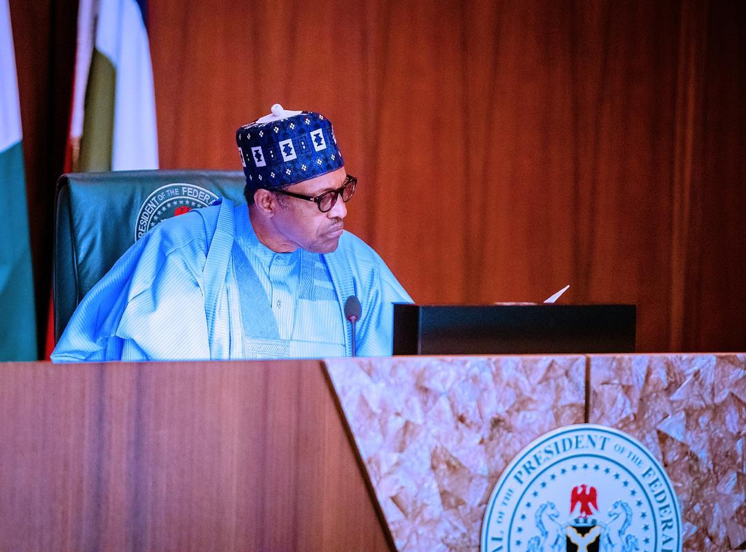 President Buhari Presides Over Virtual Meeting Of The Federal Executive Council On 14/10/2020