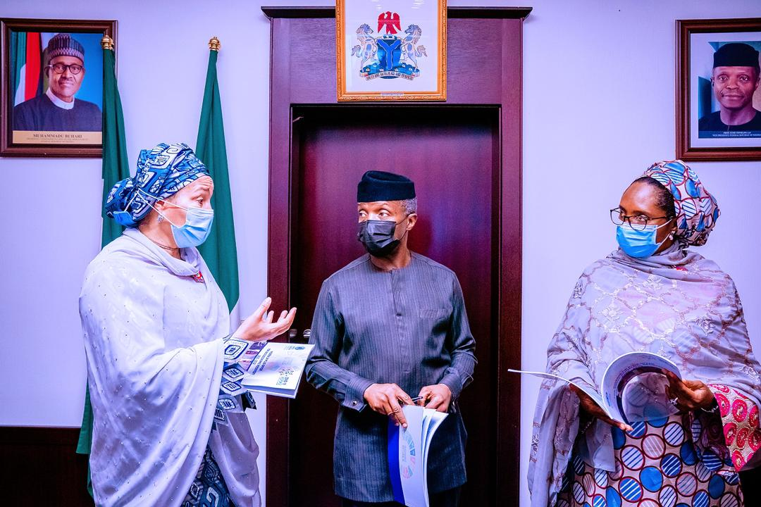 VP Osinbajo, Deputy Sec. Gen. Of United Nations, Amina Mohammed And Others Launch Nigeria UN Plus Offer For Socio – Economic Recovery 2020-2022 On 09/11/2020