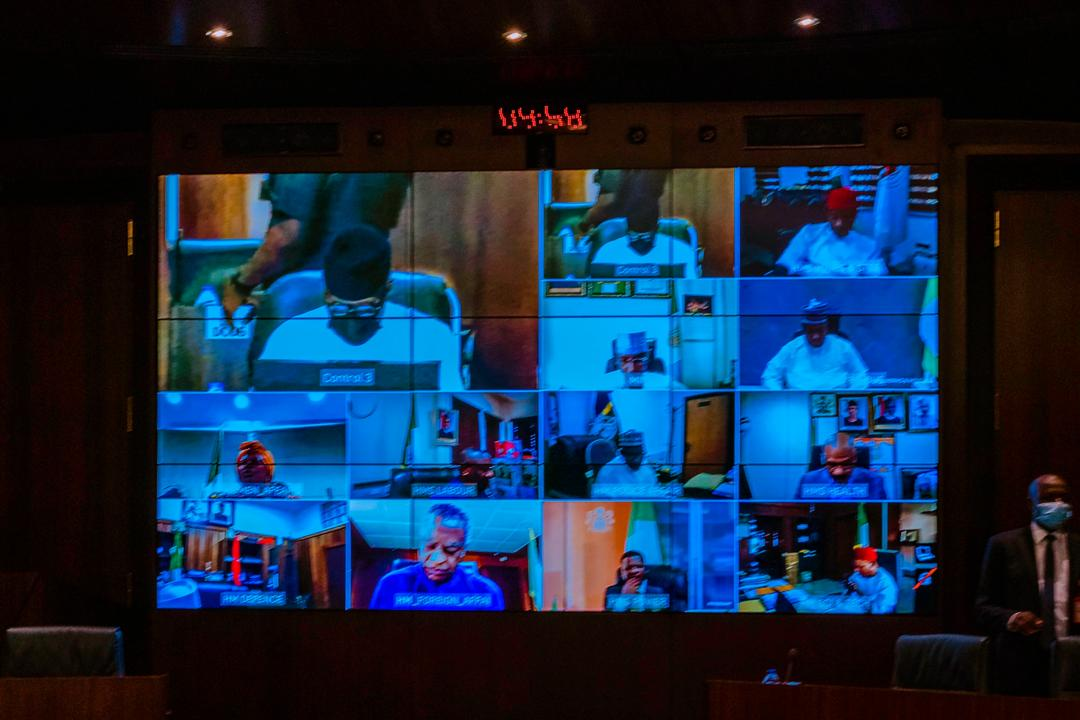 President Buhari Presides Over Virtual Meeting Of The Federal Executive Council On 11/11/2020
