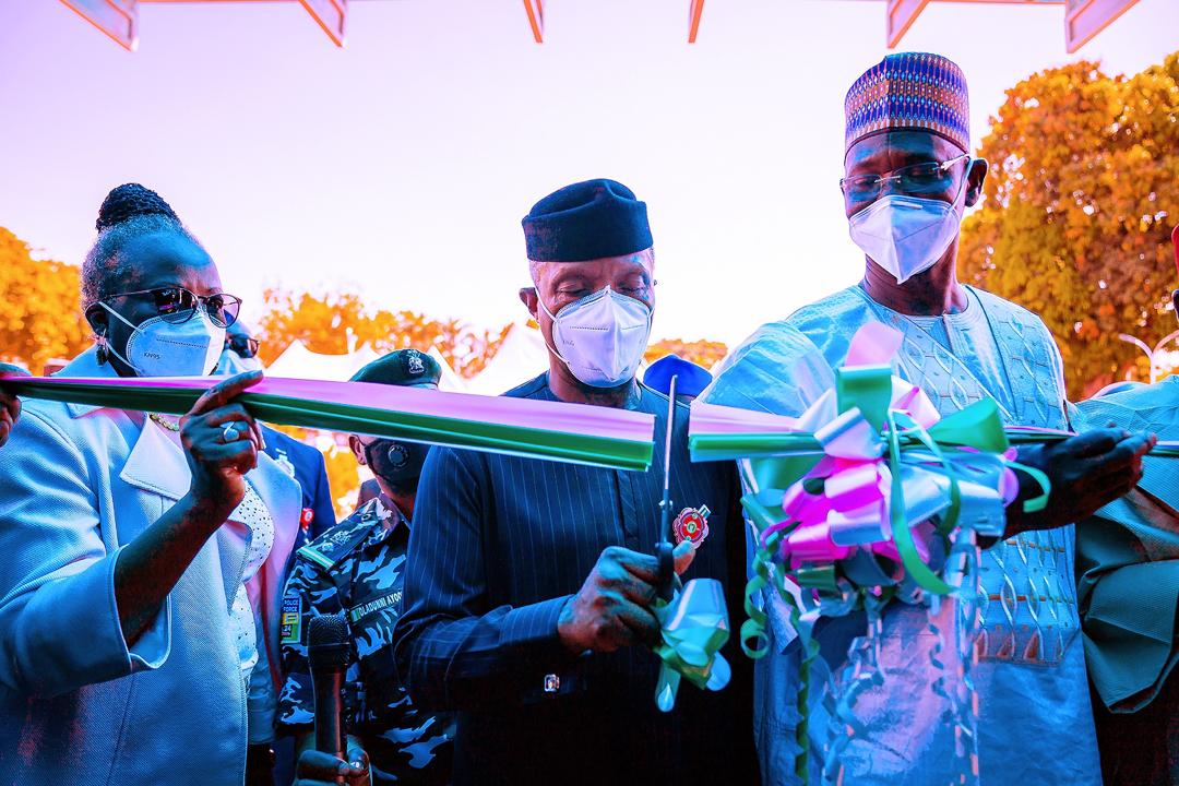 Commissioning Of Nasarawa State Infectious Disease Diagnosis Centre