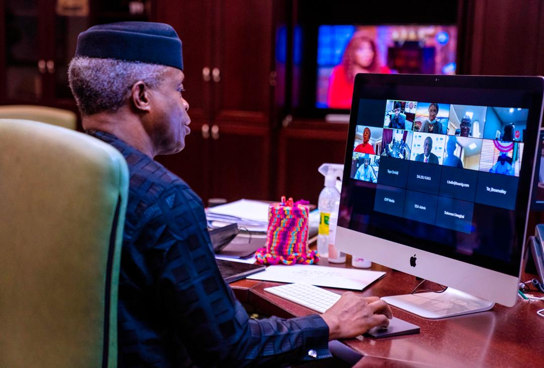 Implementation Of ESP Survival Funds Sends Positive Economic Signals, Yet We Must Scale Up Intervention In MSMEs Sector, Says Osinbajo