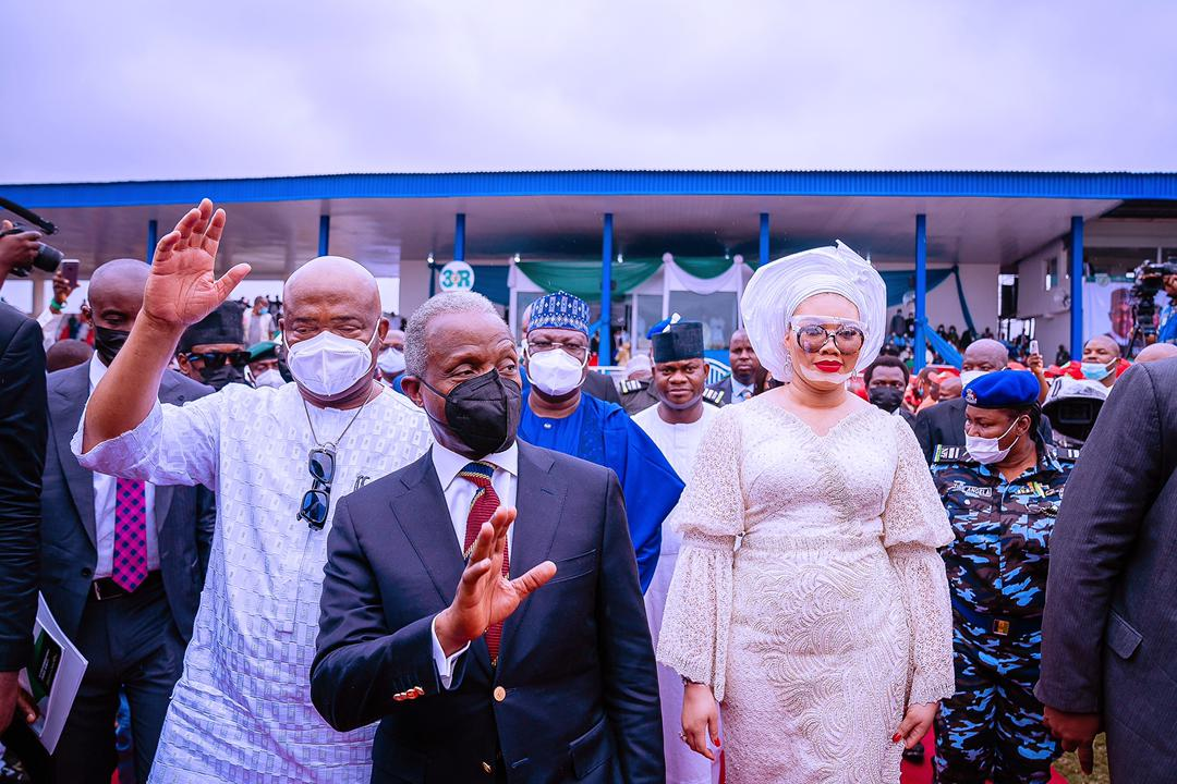 VP Osinbajo Is Special Guest Of Honour At 1st Year Anniversary Interdenominational Church Service Of Governor Hope Uzodinma In Imo State On 14/03/2021