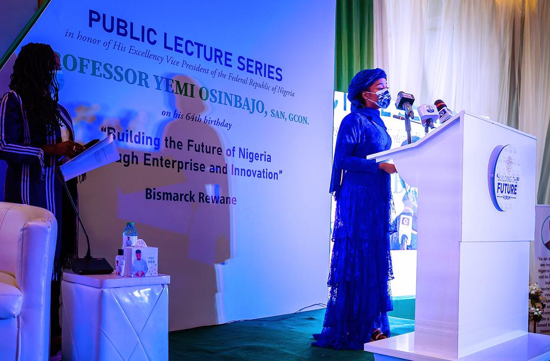 """Public Lecture Held In Honour Of VP Osinbajo's 64th Birthday Titled """"Building The Future Of Nigeria Through Enterprise & Innovation"""" On 08/03/2021"""