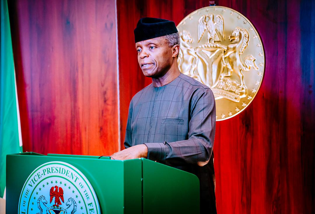 VP Osinbajo Inaugurates The Senior Executive Course, No. 43, 2021, Of The National Institute For Policy & Strategic Studies On 01/03/2021