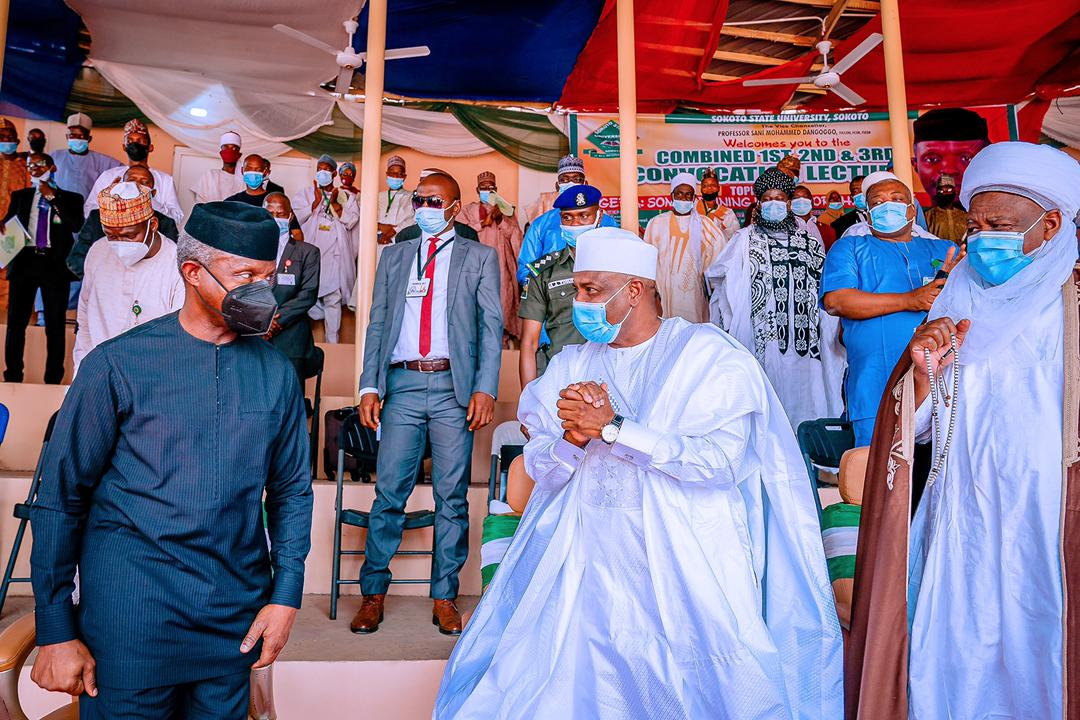 VP Delivers Convocation Lecture At Sokoto State University