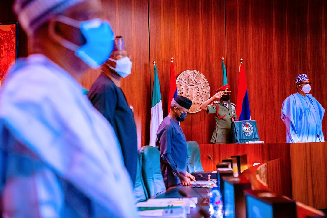President Buhari Presides Over Virtual Meeting Of The Federal Executive Council Meeting On 10/03/2021