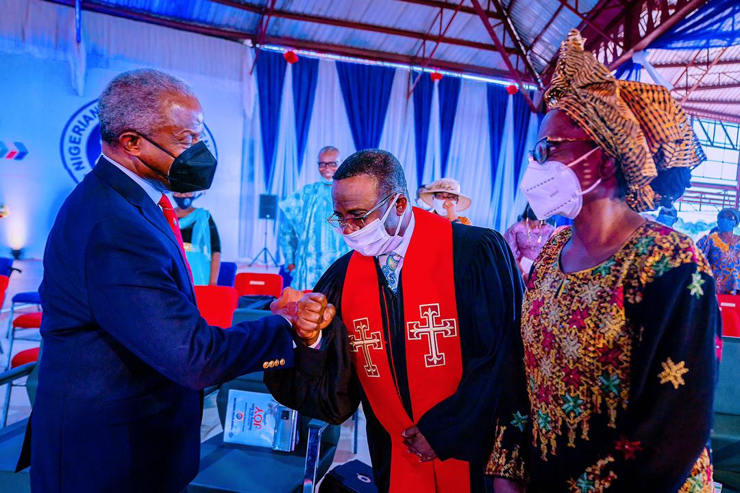 VP Osinbajo Attends The 108th Baptist Convention & Sendforth Ceremony For Rev Supo Ayokunle On 25/04/2021