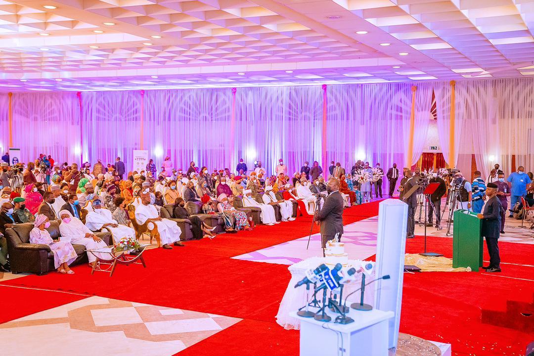 VP Osinbajo Attends Book Launch Of First Lady, Dr. Mrs Aisha Buhari On  08/04/2021 - Prof. Yemi Osinbajo (SAN)   Prof. Yemi Osinbajo (SAN) .::. The  Office of the Vice-President of the