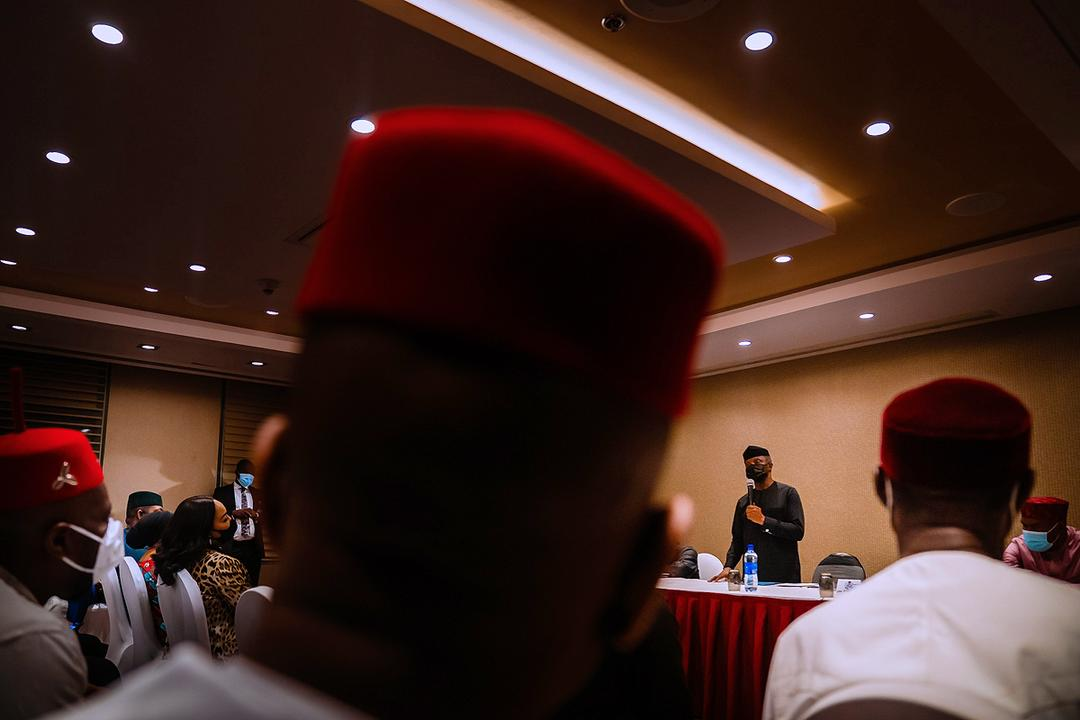 VP Osinbajo Interacts With Southeast APC Leaders & Chieftains From Anambra State On 27/04/2021