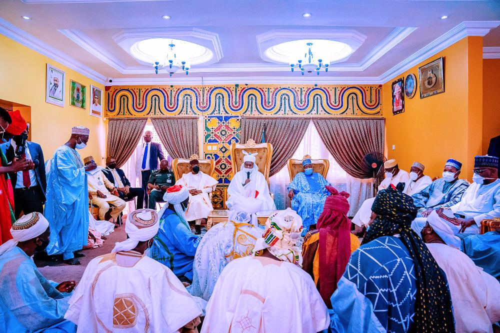 Turbaning Ceremony Of Water Resources Minister,  Suleiman H. Adamu, As Galadima By Emir Of Kazaure In Jigawa State On 09/04/2021