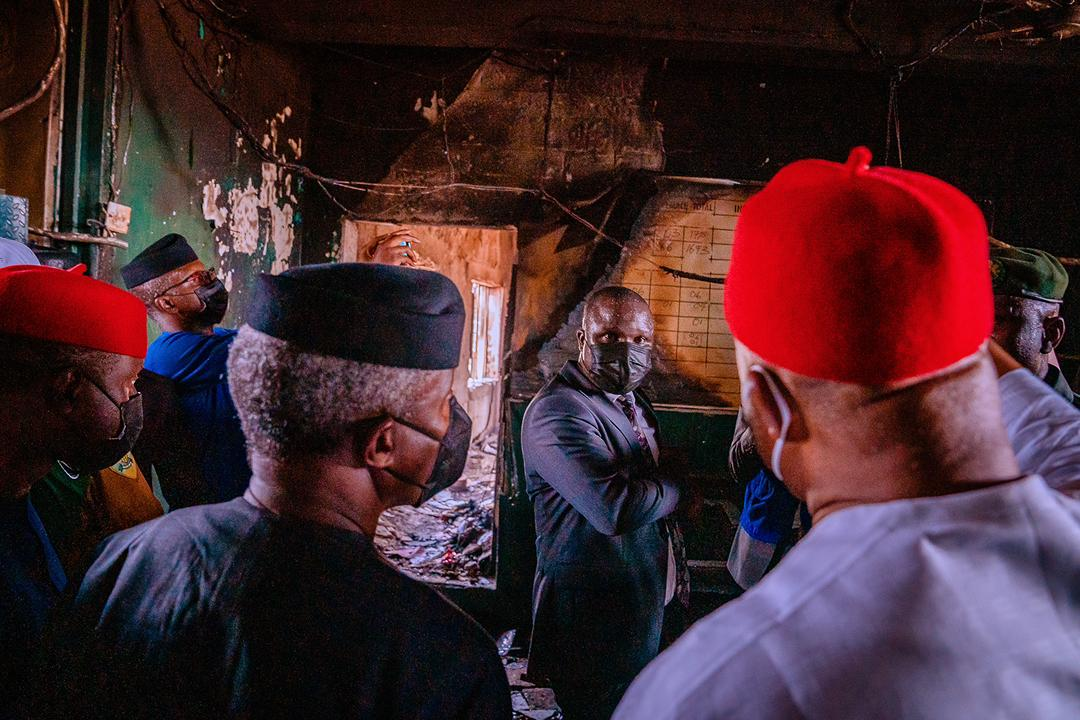 VP Osinbajo In Imo State For Inspection Of Damage Caused At Correctional Facility & Commissioning Of Road Projects On 06/04/2021