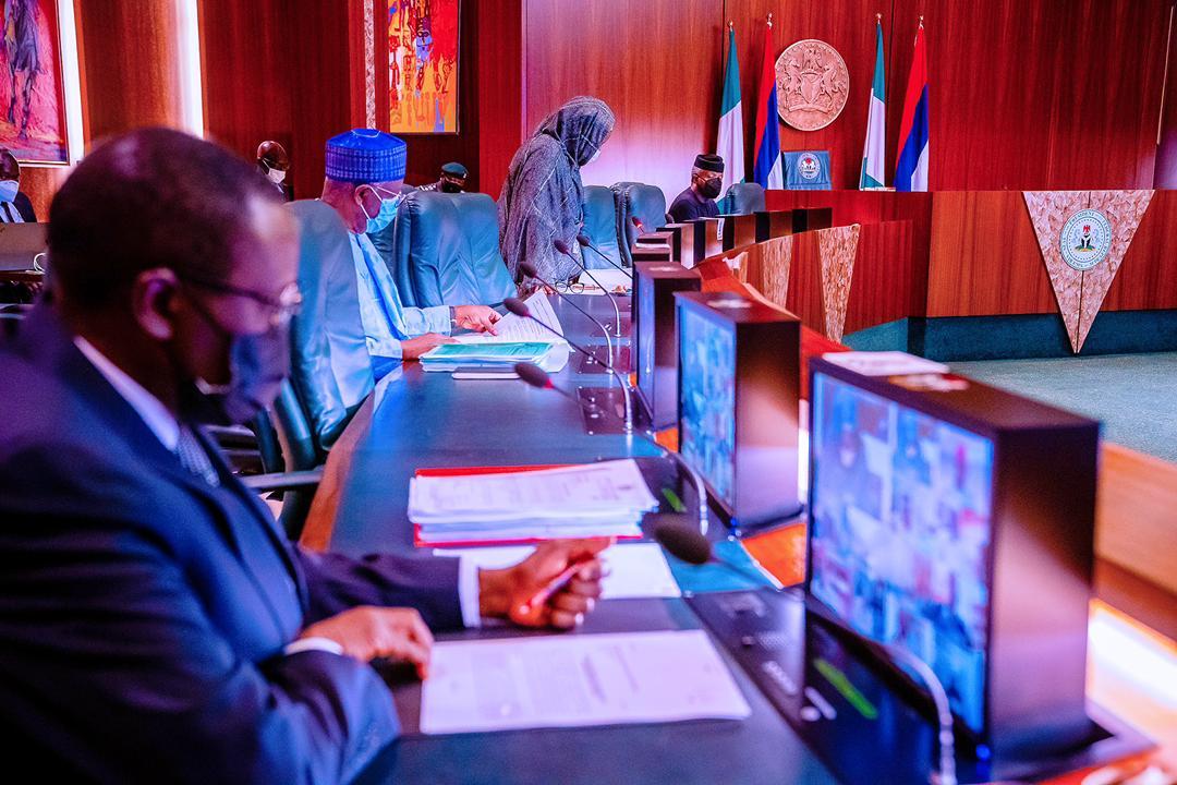 VP Osinbajo Presides Over Virtual Federal Executive Council Meeting On 14/04/2021