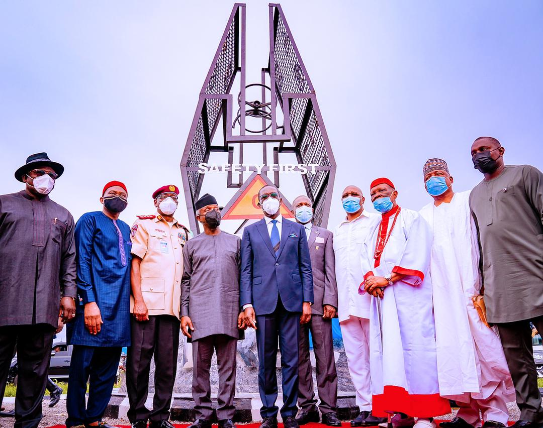 VP Osinbajo In Delta State For Commissioning Of FRSC Training School On 06/05/2021