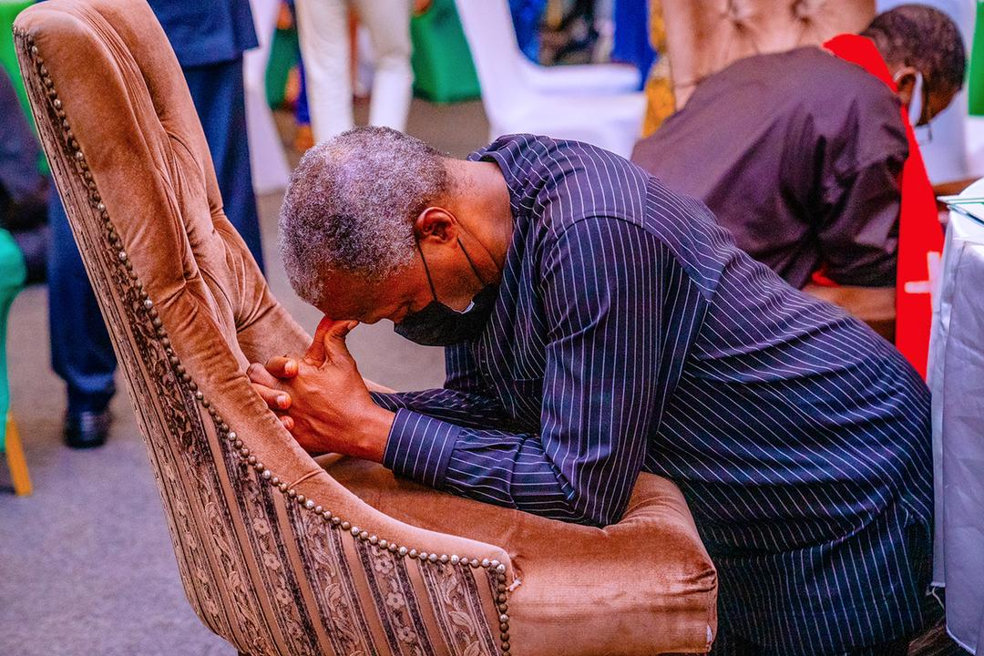 """VP Osinbajo Attends National Prayer Breakfast Event Themed: """"The Birth Of A New Nation"""" On 21/05/2021"""