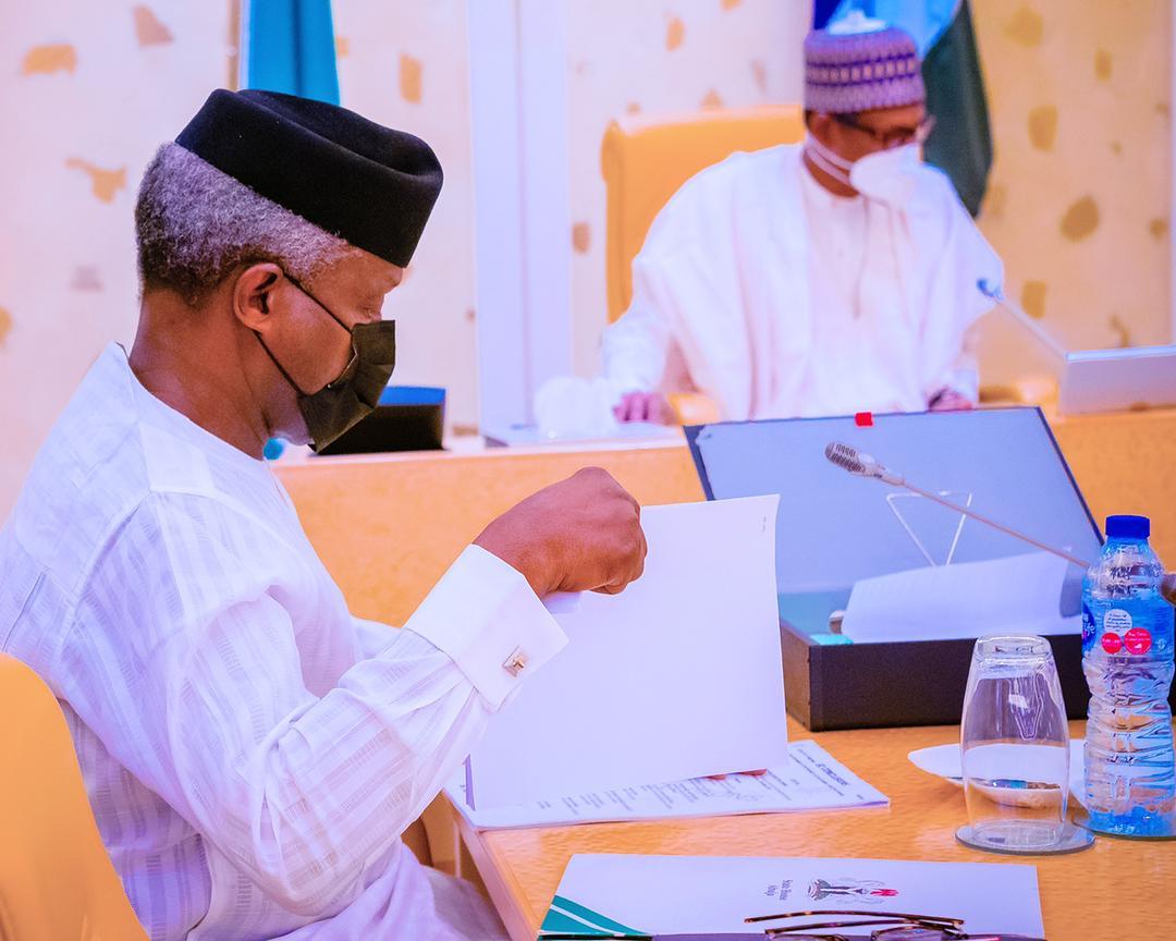 President Buhari Presides Over Virtual Meeting Of The Federal Executive Council On 05/05/2021