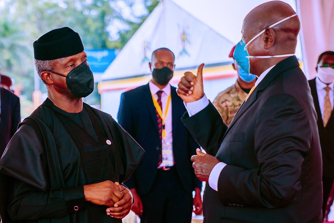 VP Osinbajo Attends Presidential Inauguration Of President Yoweri Museveni Of Uganda On 12/05/2021