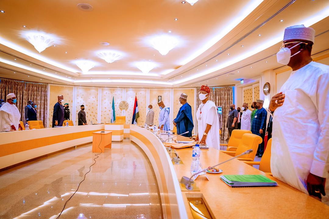 VP Osinbajo Presides Over Virtual Federal Executive Council Meeting; 1 Minute Silence Observed For Former Minister Of Women Affairs, Haija Aisha Al-Hassan On 19/05/2021