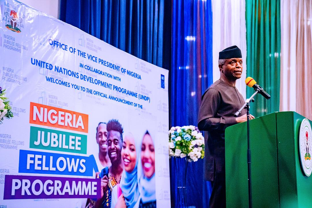 Official Announcement Of The UNDP Nigeria Jubilee Fellows Programme