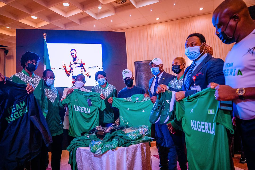"""Osinbajo To Nigeria's Olympics Team: """"You Stand On The Shoulders Of Giants"""""""