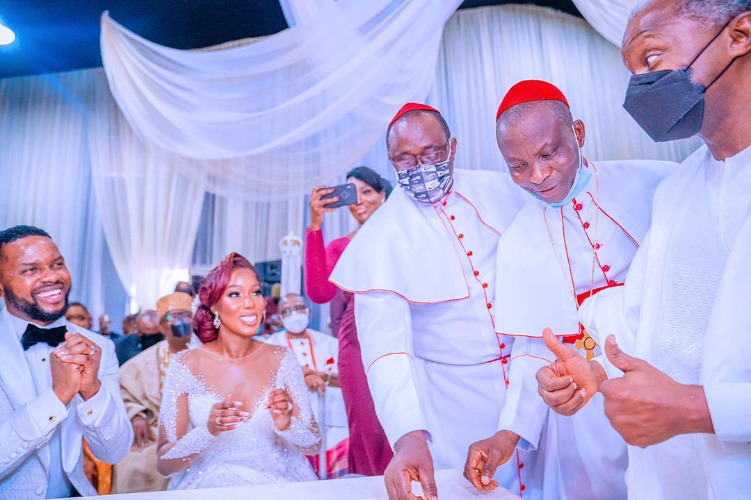VP Osinbajo Attends Wedding Ceremony Of Debola & Kehinde Williams On 07/08/2021