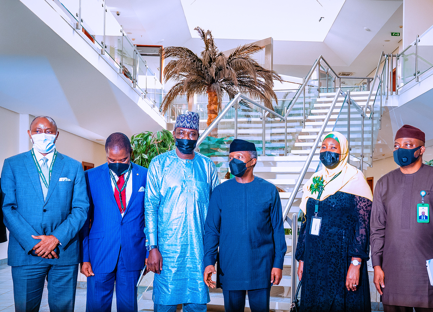 VP Osinbajo Receives Delegation From The Muslim Public Affairs Centre On 30/08/2021