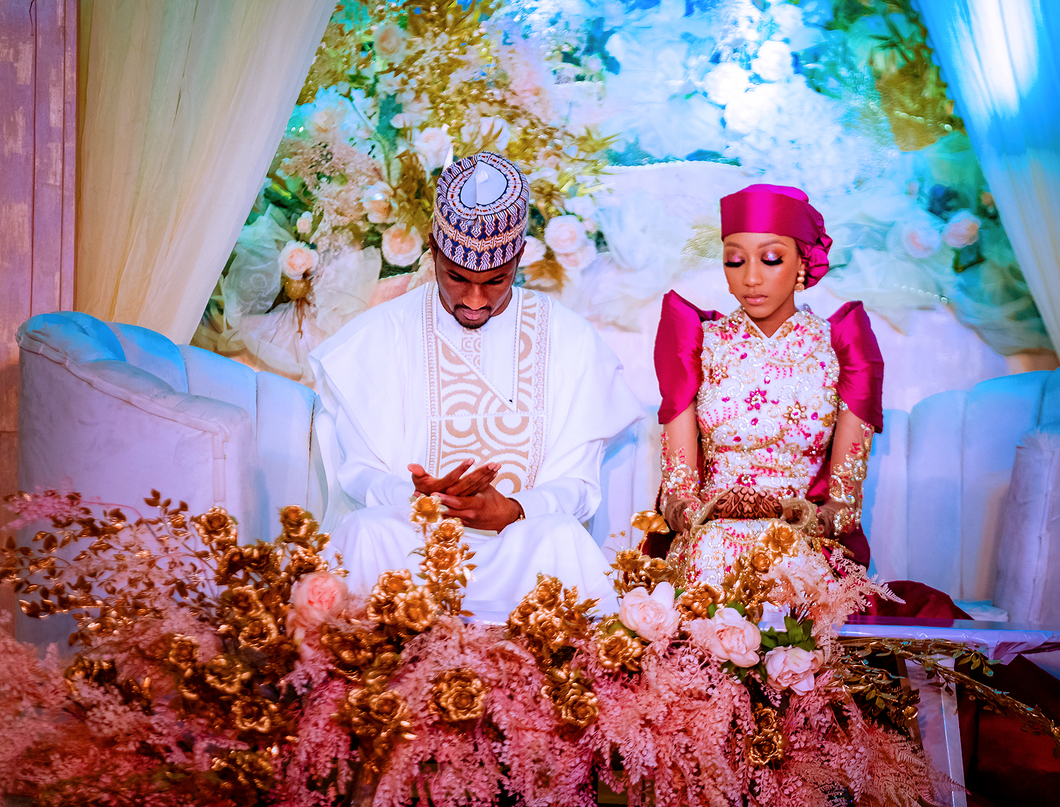 Luncheon In Honour Of Yusuf And Zahra Buhari, Rounding Off Their Wedding Ceremony On 22/08/2021