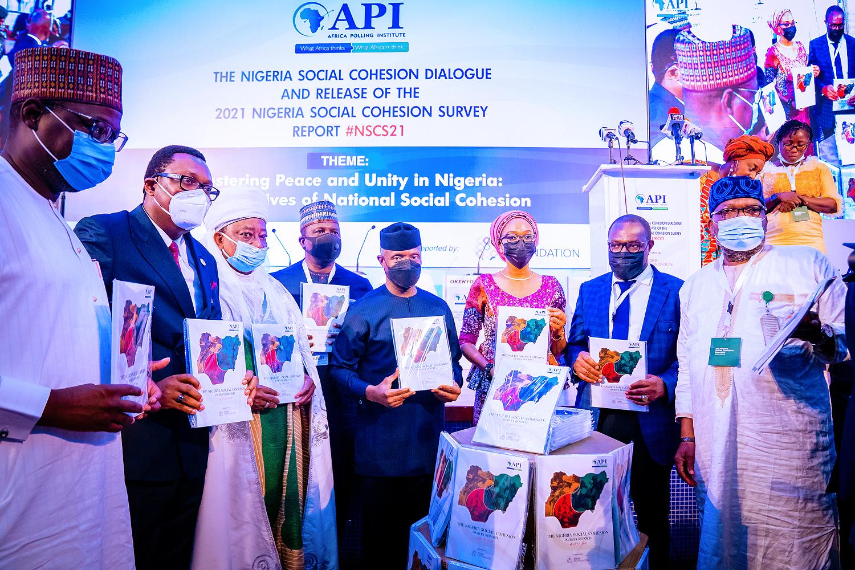 VP Osinbajo Attends Nigerian Social Cohesion Dialogue & Release Of 2021 Nigeria Social Cohesion Survey Report On 26/08/2021