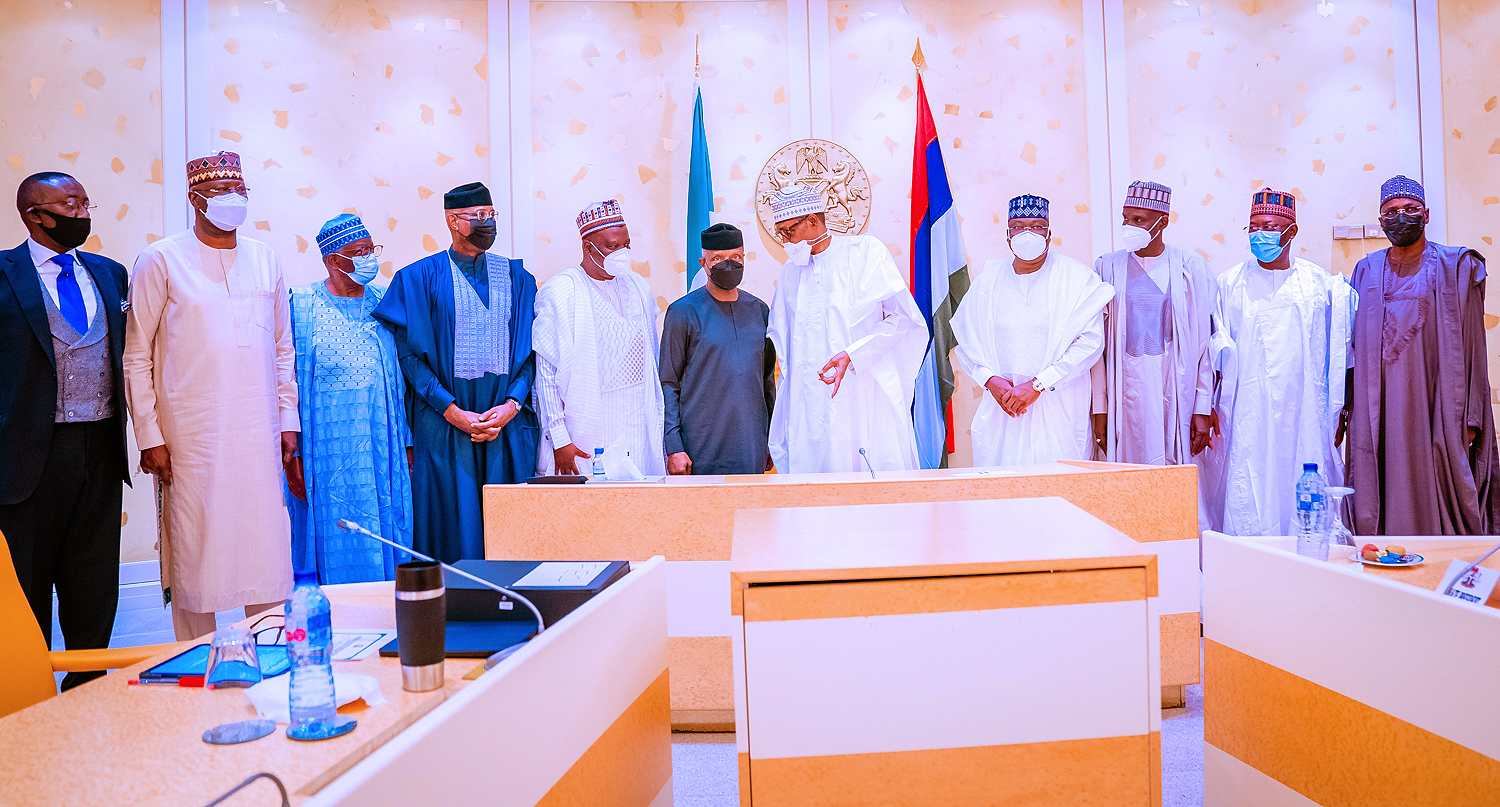 President Buhari Presides Over Virtual Meeting Of FEC, Inaugurates Petroleum Industry Act Implementation Committee On 18/08/2021