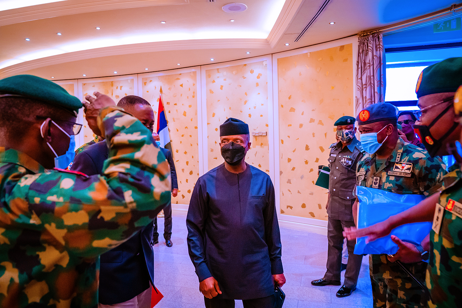 President Buhari Receives Security Briefing From Service Chiefs On 19/08/2021