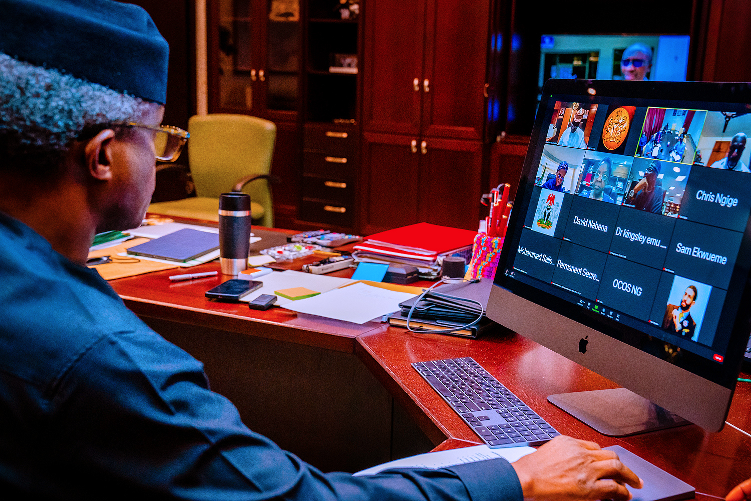 VP Osinbajo Chairs The Poverty Reduction And Growth Strategy Committee Meeting On 19/08/2021