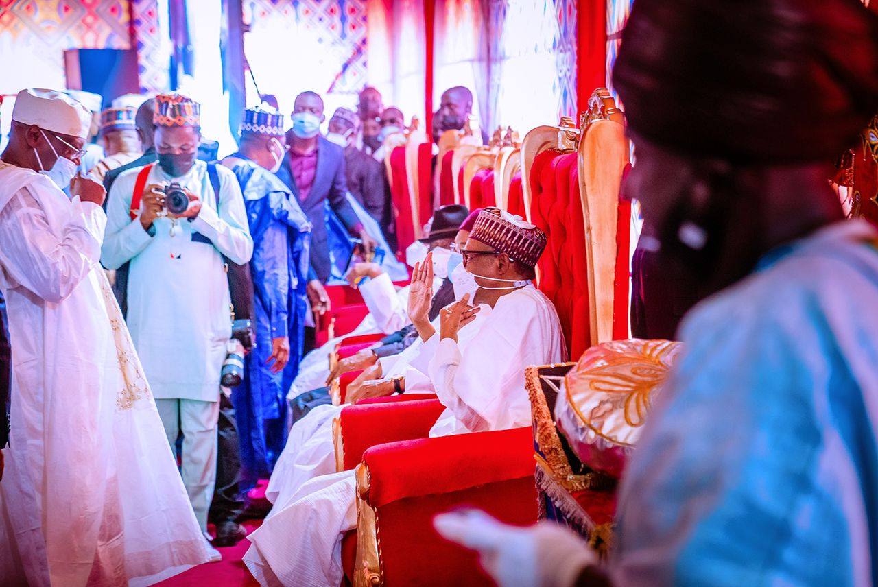 VP Osinbajo Attends Wedding Fatiha Of Yusuf Buhari And Zahra Daughter of Emir of Bichi, Nasiru Ado Bayero, In Kano On  20/08/2021