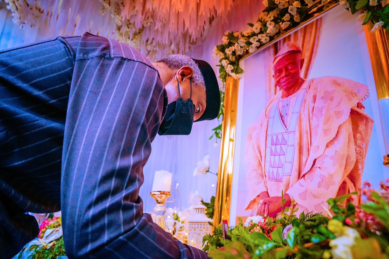 Condolence Visit To Gov. Dapo Abiodun On The loss Of His Father, Dr Emmanuel Adesanya Abiodun On 27/08/2021