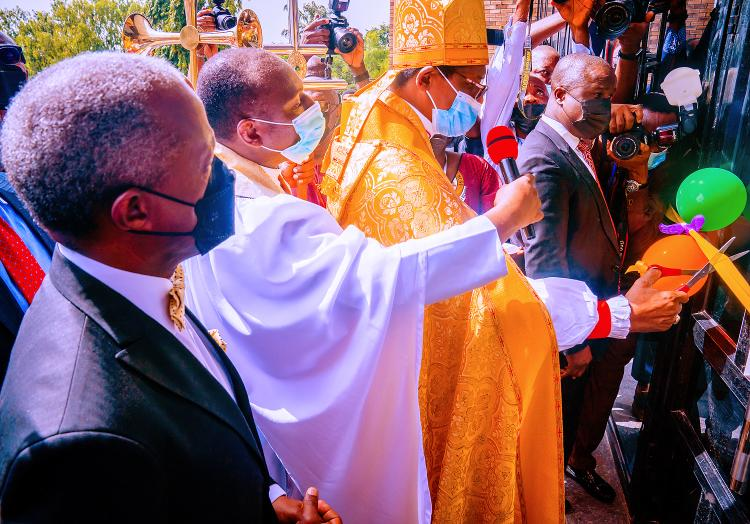 Dedication Of All Saints Anglican Church In Wuse 2, Abuja