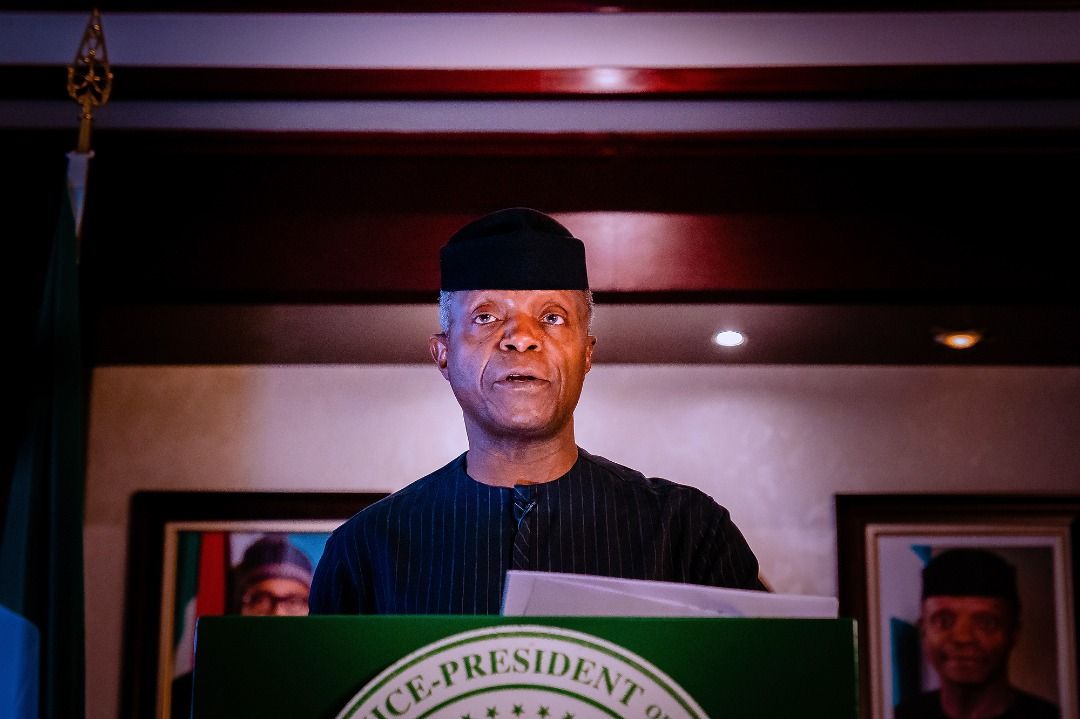 On Behalf Of President Buhari, VP Osinbajo Declares Open The 27th Nigerian Economic Summit On 25/10/2021