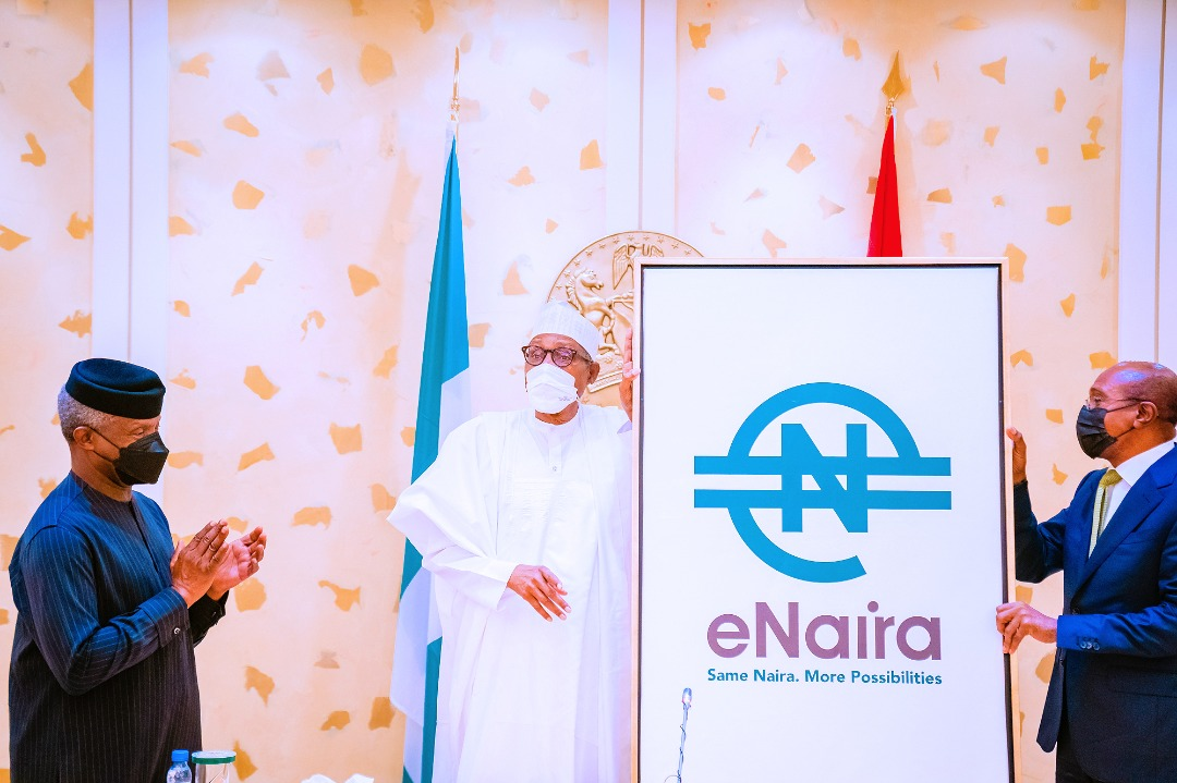 Swearing In Of New INEC Commissioners, Launch Of E-Naira Platform & Launch Of The Emblem Appeal For The 2022 Armed Forces Remembrance Day On 25/10/2021